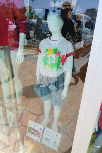 スプラトゥーンTシャツ発売初日の混雑状況は?