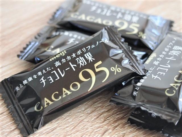 「チョコレート効果」のカカオ95%は苦いというよりすっぱい