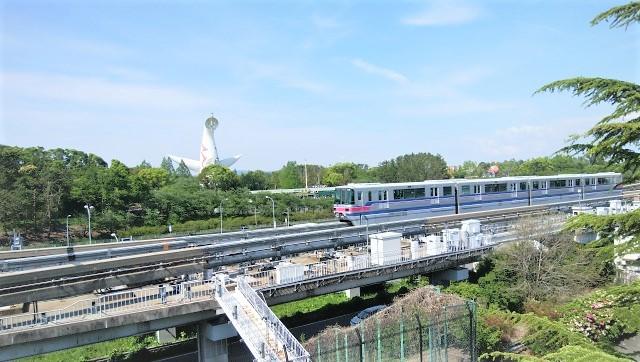 太陽の塔への最寄り駅は万博記念公園駅
