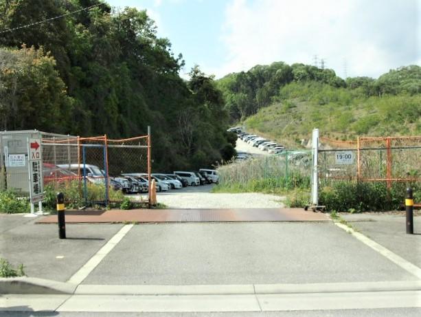 彩都なないろ公園の第2駐車場