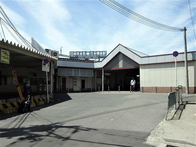 石橋駅東口はタクシー乗り場だけある