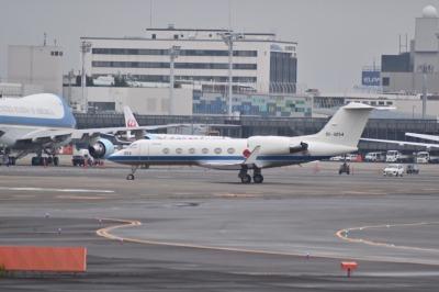 G20大阪サミットで伊丹空港に着陸したエアフォースワン